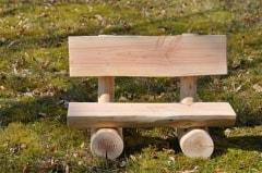 Miniaturbank, Puppenbank, Holz