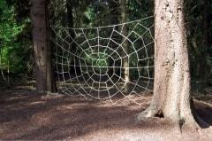 Spinnenkletternetz