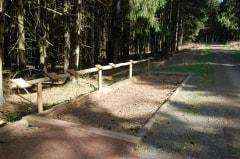 Station für den Waldlehrpfad