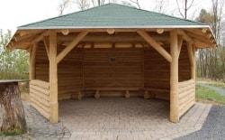 Bauwerke aus Holz