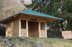 Aussichtsplateau aus Dougalsienholz